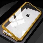 Apple iPhone 7 Kılıf Olix Devrim Mıknatıslı Cam Kapak -9