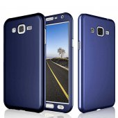 Samsung Galaxy J7 Core Kılıf 360 3 Parçalı Rubber Koruma