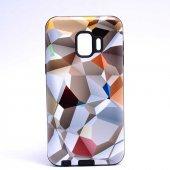 Samsung Galaxy J2 Core Kılıf Olix Piramit Silikon -7