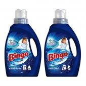 Bingo Sıvı Deterjan 2145 Ml 66 Yıkama Parfümsüz 2 Li Paket