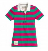 Musto Block Çizgili Polo Tişört, kadın
