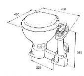 Raske RM69 marine tuvalet-2