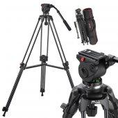 Panasonic Kamera İçin Jie Yang Jy508b Tripod,...