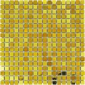 Mk61 Altın Kristal Cam Mozaik