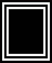 RugRita Siyah Beyaz Şerit Kaydırmaz Taban Salon Halısı-2
