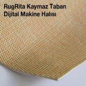 RugRita Siyah Beyaz Şerit Kaydırmaz Taban Salon Halısı-3
