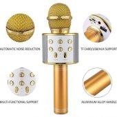Sihirli Kareoke Mikrofon WS858 4 RENK-2