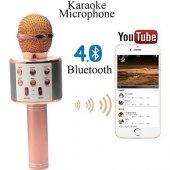 Sihirli Kareoke Mikrofon WS858 4 RENK-3