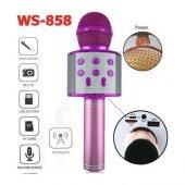 Sihirli Kareoke Mikrofon WS858 4 RENK-7