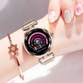 Olix H1 Smart Watch Bayan Akıllı Saat Nabız Ölçer Uyku ve Spor Faliyetleri-2