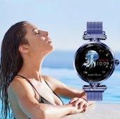 Olix H1 Smart Watch Bayan Akıllı Saat Nabız Ölçer Uyku ve Spor Faliyetleri-4