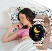 Olix H1 Smart Watch Bayan Akıllı Saat Nabız Ölçer Uyku ve Spor Faliyetleri-5