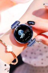 Olix H1 Smart Watch Bayan Akıllı Saat Nabız Ölçer Uyku ve Spor Faliyetleri-8