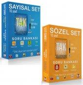Tonguç Yayınları 10. Sınıf Sayısal Ve Sözel Tak Soru Bankası Seti