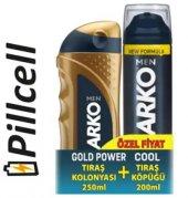 Arko Tıraş Kolonyası Gold Power 250 Ml + Tıraş...