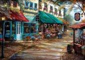 KS Puzzle 1000 Parça Market Place 11322-2