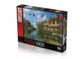 Ks Puzzle 1000 Parça Old River Cottage 11272