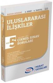 Murat Yayınları Aöf Bahar Dönemi Uluslararası İlişkiler 2. Sınıf 4. Yarıyıl Çıkmış Sınav Soruları 5643