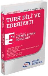 Murat Yayınları Aöf Bahar Dönemi Türk Dili Ve Edebiyatı 4. Sınıf 8. Yarıyıl Çıkmış Sınav Soruları 6183