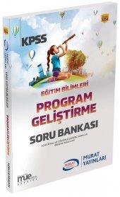 Murat Yayınları KPSS Eğitim Bilimleri Program Geliştirme Soru Bankası