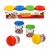 Fun Dough Mickey Mouse 4' Lü Oyun Hamuru