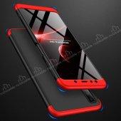 Eiroo Samsung Galaxy A7 2018 360 Derece Koruma Kırmızı Kılıf-2