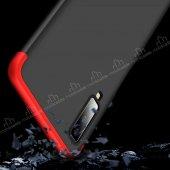 Eiroo Samsung Galaxy A7 2018 360 Derece Koruma Kırmızı Kılıf-5