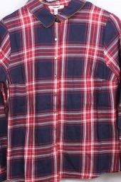Koton 7yak66784ıw Kadın Kareli Gömlek