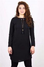 Ersel 2313 Kadın Omuzları Modelli Kolyeli Tunik