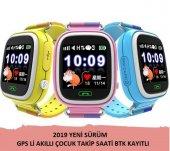 GPS Akıllı Çocuk Takip Saati SiM Kartlı Arama TD02 Modeli