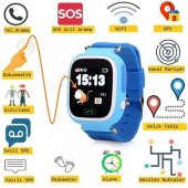 GPS Akıllı Çocuk Takip Saati SiM Kartlı Arama TD02 Modeli-2