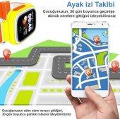GPS Akıllı Çocuk Takip Saati SiM Kartlı Arama TD02 Modeli-3