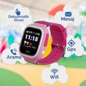 GPS Akıllı Çocuk Takip Saati SiM Kartlı Arama TD02 Modeli-4