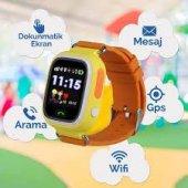 GPS Akıllı Çocuk Takip Saati SiM Kartlı Arama TD02 Modeli-5
