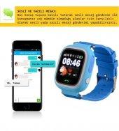 GPS Akıllı Çocuk Takip Saati SiM Kartlı Arama TD02 Modeli-6