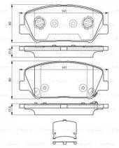 Hyundai İ30 1.6 Crdi 2011 2016 Bosch Ön Fren...