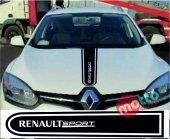 Renault Sport Logolu Otomobil Ön Kaput Şeridi...