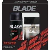 Blade Faster EDT Erkek Parfüm 100 ml & Deodorant 150 ml