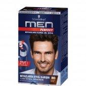 Schwarzkopf Perfect Men 80 Siyah Kahve Saç Boyası...