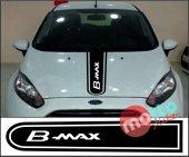 Ford B Max Logolu Otomobil Ön Kaput Şeridi...