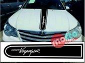 Chrysler Grand Voyager Logolu Otomobil Ön Kaput...