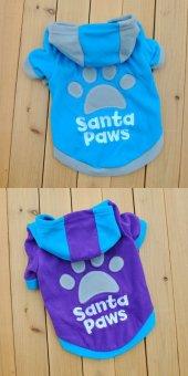 Kedi Ve Köpek İçin Polarlı Santa...