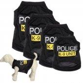 Kedi Ve Köpek İçin K9 Polis Elbise,kıyafet, Xs...