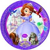 Prenses Sofia Lisanslı Parti Tabağı 23 Cm (8 Ad.)