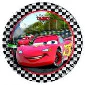 Cars Lisanslı Parti Tabağı 23 Cm (8 Ad.)