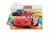 Cars Rsn Lisanslı Parti Masa Örtüsü (180x120 Cm)