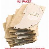 Arçelik Elektronik Astarlı Süpürge Kağıt Toz Torbası (5 Li Pak)