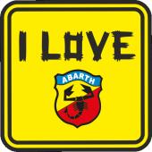 I LOVE ABART STİCKER