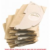 Bosch 211 Süpürge Kağıt Toz Torbası (5 Li Paket)