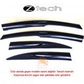 Z Tech Mitsubishi L200 (2006 2011) Cam Rüzgarlığı (4 Lü Set)